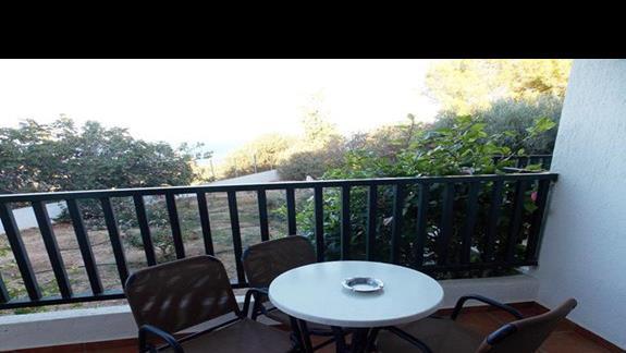 widok z balkonu p. standard w h. Hersonissos Village