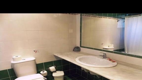 łazienka w p. standard w h. Hersonissos Village