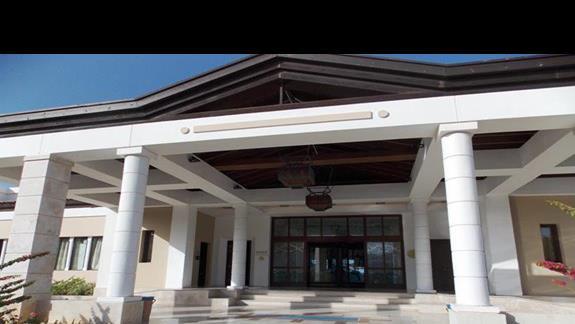 front budynku w h. Aldemar Royal Mare