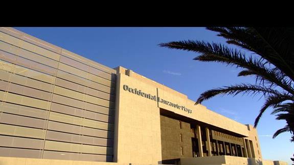 Budynek główny hotelu Occidental Lanzarote Playa