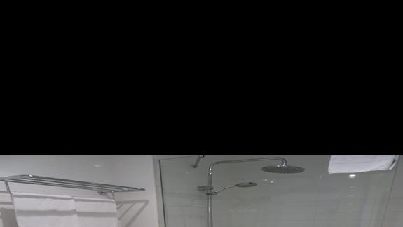Toaleta w łazience hotelu Occidental