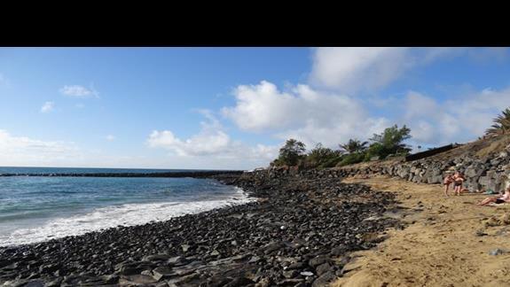 Playa Bastian bez serwisu plażowego tylko prysznic