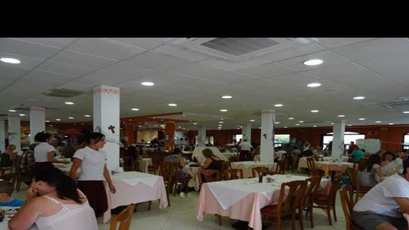 Restauracja główna hotelu Aloe Club
