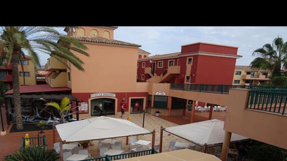Widok na bary hotelu Aloe Club