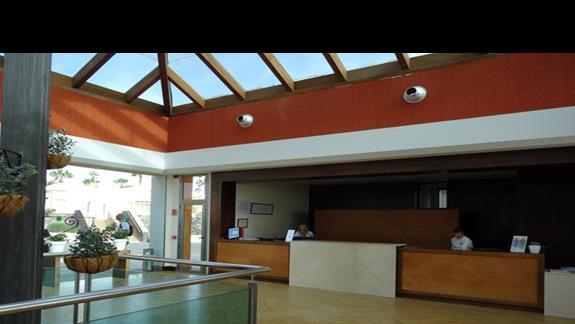 Recepcja hotelu Club Caleta Dorada