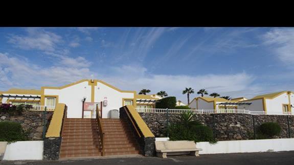 Bungalowy jedna z części Club Caleta Dorada