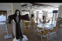 Hotel Elba Castillo San Jorge & Antigua - Restauracja główna gotowa na HOlloween hotel San Jorge Antigua