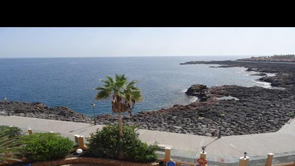 Widok na ocean z pokoju San Jorge Antigua