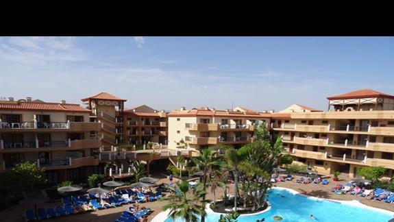 Teren hotelu San Jorge Antigua