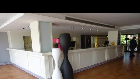 Recepcja hotelu San Jorge Antigua