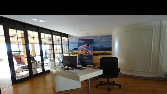 Punkt informacyjny hotelu San Jorge Anigua