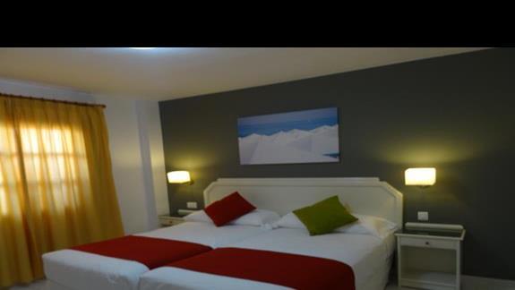 Sypialnia w pokoju San JOrge Antigua