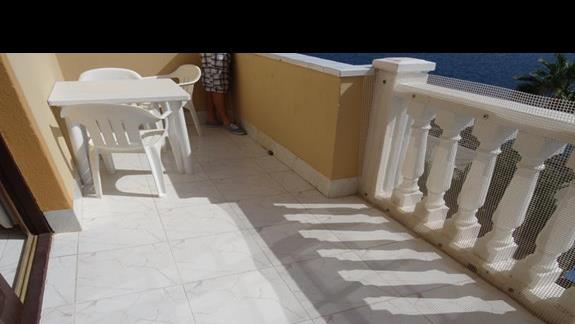 Balkon pokoju San Jorge Antigua