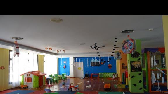 Olbrzymi mini klub hotelu San Jorge Antigua