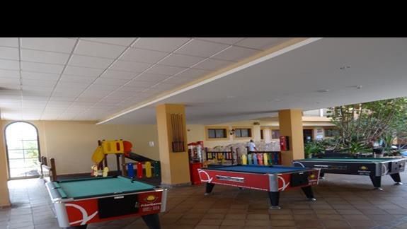 Kącik gier hotelu San Jorge Antigua
