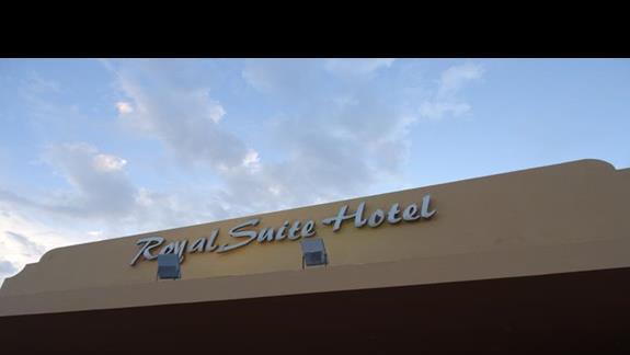 Budynek główny Royal Suite