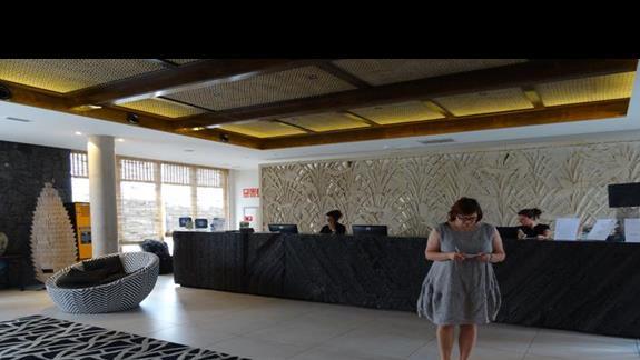 Recepcja hotelu Origo Mare