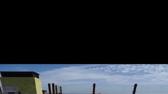 Basen dla dzieci na dachu w Costa Caleta