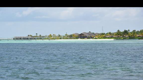 Widok na wyspe Adaaran Select Hudhuran Fushi