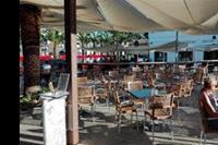 Hotel Labranda Sandy Beach - Zewnętrzny taras przy lobby barze