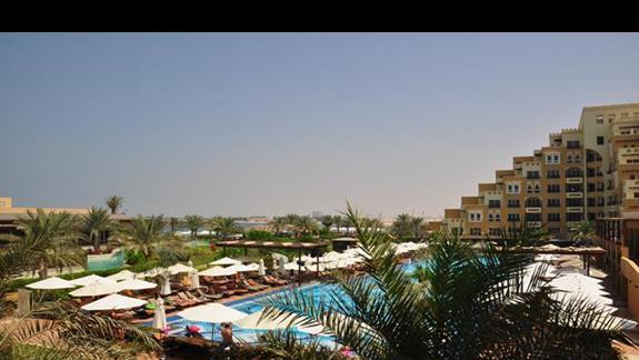 Strefa basenowa Rixos Bab al Bahr