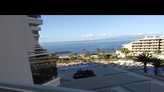 widok z pokoju superior, Hovima Costa Adeje