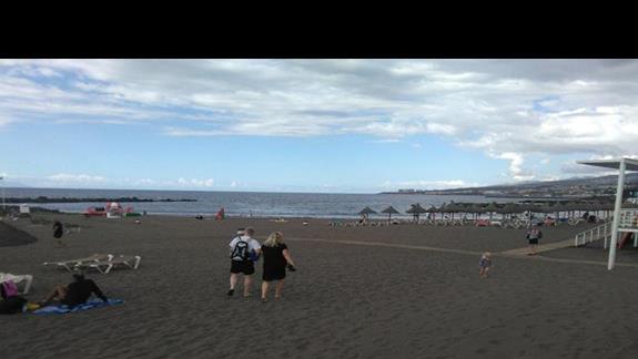 Plaża przy Hotelu Troya