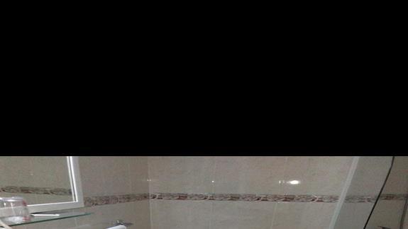 Łazienka w pokoju Singel, Hotel San Telmo