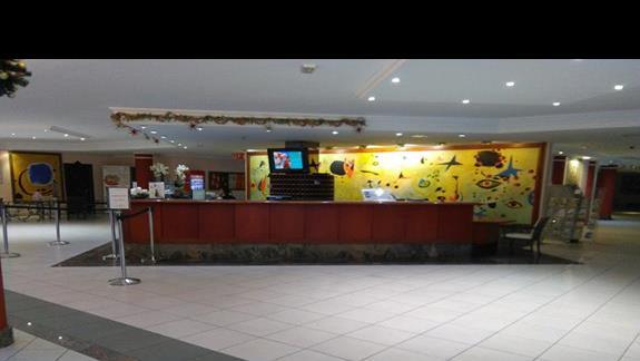 Recepcja, Hotel Dunas Mirador Maspalomas