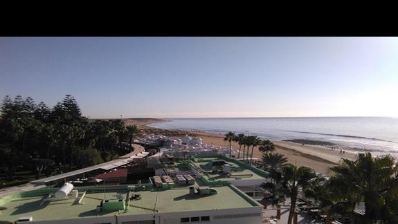 Boczny widok na morze z pokoju standard, Ifa Faro