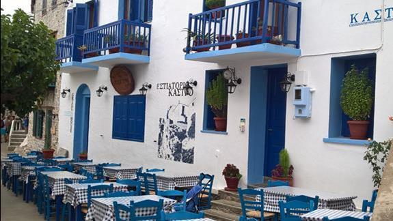 Tawerna na wyspie Alonnisos