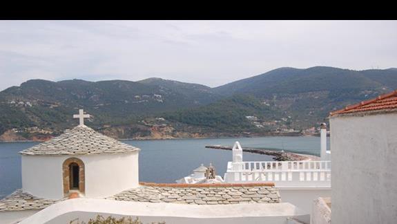 Jeden z wielu monastyrów w Skopelos
