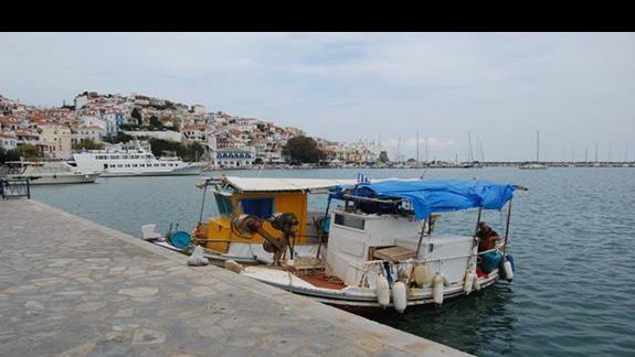 Skopelos - stolica wyspy