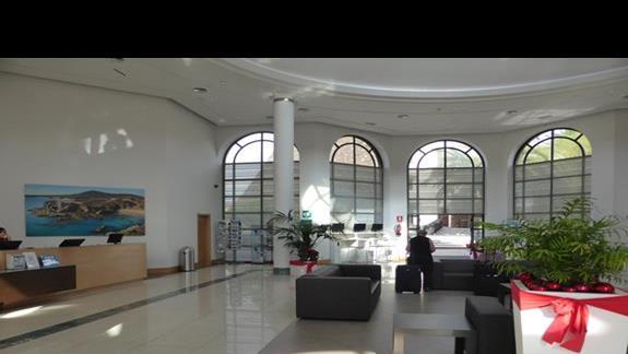 Lobby w hotelu Los Zocos