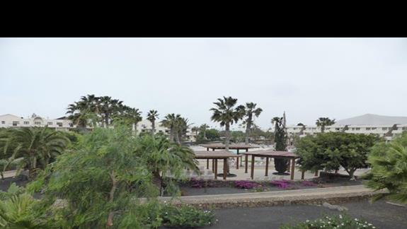 Teren  hotelu Los Zocos