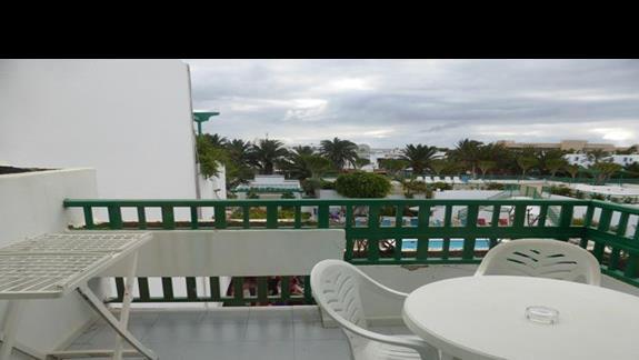 Balkon w hotelu Mansion Nazaret