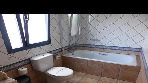 Łazienka w hotelu Mansion Nazaret