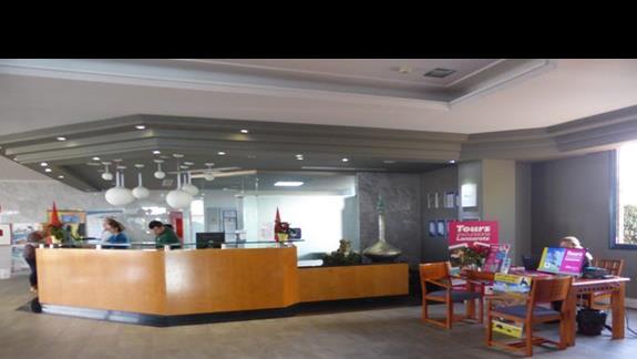 Lobby w hotelu Mirador de Papagayo