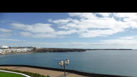 Widok z hotelu Mirador de Papagayo