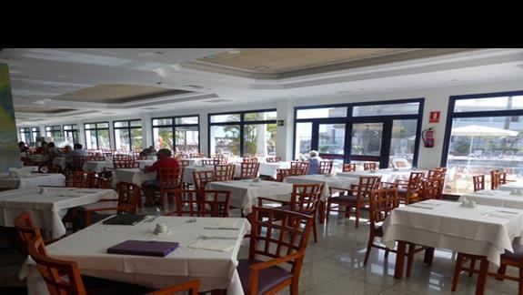 Restauracja w hotelu Mirador de Papagayo