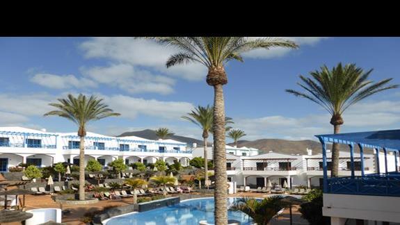 Basen w hotelu Mirador de Papagayo