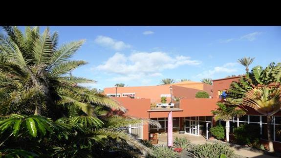 Teren  hotelu Oasis Papagayo