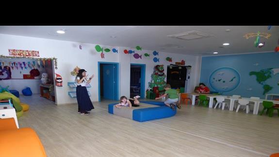 Pokój zabaw w hotelu Occidental Jandia Mar