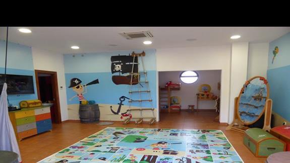 Pokój piratów w hotelu Occidental Jandia Mar