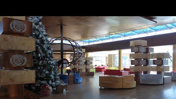 Lobby w hotelu Barcelo Fuerteventura