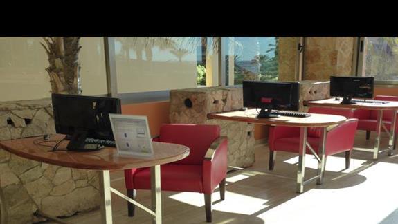 Stanowiska internetowe w hotelu Barcelo Fuerteventura