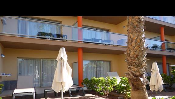 Balkon w hotelu Barcelo Fuerteventura