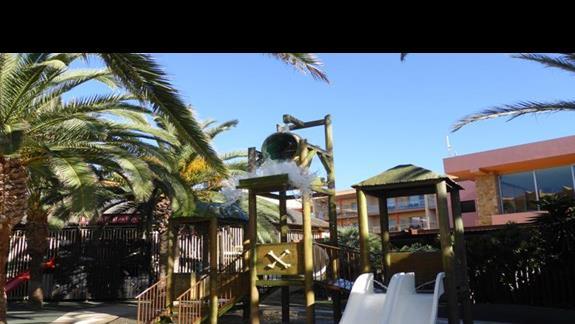 Plac zabaw w hotelu Barcelo Fuerteventura