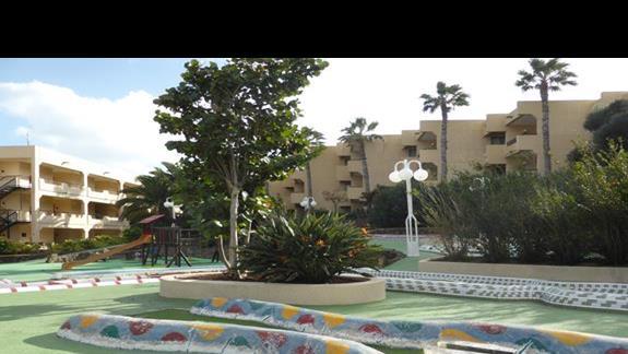 Mini golf w hotelu Occidental Lanzarote
