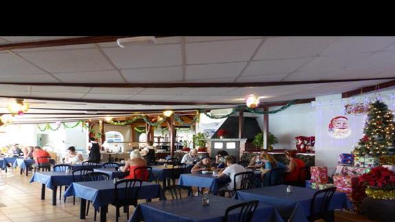 Restauracja w hotelu Castillo Beach Bungalows